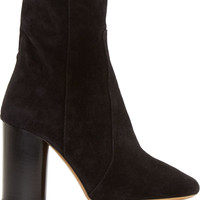 Black Suede Garbo Bootsy Boots