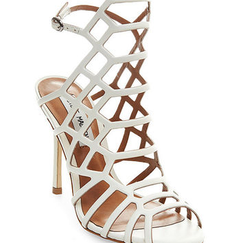 Steve Madden Slithur Caged Sandals | Dillards