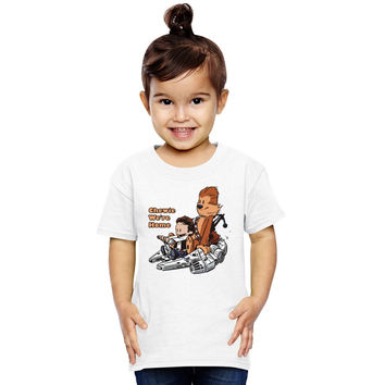 Chewie And Han Calvin And Hobbes Toddler T-shirt