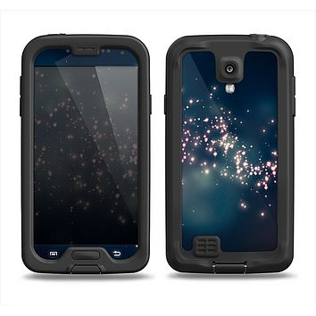 The Dark & Glowing Sparks Samsung Galaxy S4 LifeProof Fre Case Skin Set