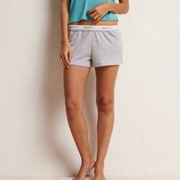 AERIE REAL SIGNATURE SWEATSHORT