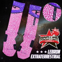 Lebron X All-Star Custom Nike Elite Socks | Rock 'Em Apparel