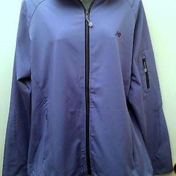 DCCK8NT nwt new balance womens size xxl purple hooded zip running jacket many pockets