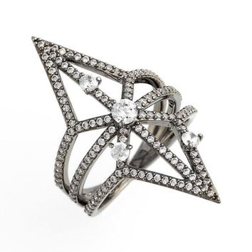 Nadri 'Holy Night' Openwork Ring | Nordstrom