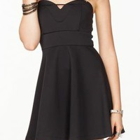 Sweetheart Glam Black Dress
