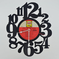 Vinyl Record Clock (artist is Neil Diamond)