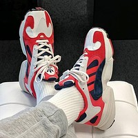 Adidas Yung-1 Yeezy 700 New Popular Men Casual Running Sport Shoes Sneakers Red I-A-FJGJXMY