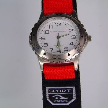 Sports Men's Wrist Watch Water Resistant Quartz Peleman Industries Promotional