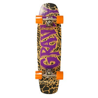 GRAVITY WINGMAN PURPLE COMPLETE LONGBOARD SKATEBOARD 30""