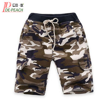 Summer Style Baby Boys Shorts Cotton Children Clothing Camouflage Sports Pants For Boys Fashion Casual Kids Shorts Trousers