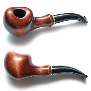 Wooden pipe, Tobacco Pipe, Collection Smoking Pipes. Wooden Handmade. Wood Pipe