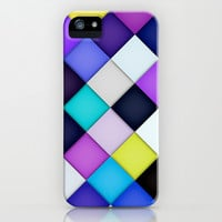 Quilted with Halftone iPhone & iPod Case by House of Jennifer