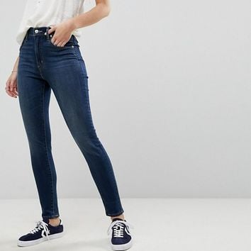 Levi's Mile High Super Skinny Jean in Darkwash at asos.com