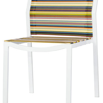 Stripe Dining Side Chair