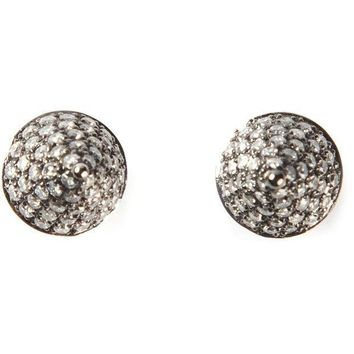Elise Dray Diamond Cone Earrings