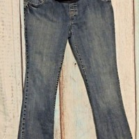 Maternity  Blue Jeans Old Navy Pants Size Large