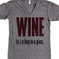 Athletic Grey T-Shirt | Fun Wine Gifts Shirts