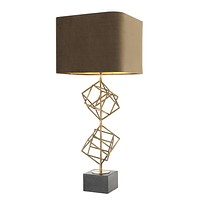 Vintage Brass Table Lamp | Eichholtz Matrix
