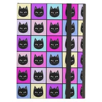 Pastel Rainbow Cat Pattern Case For iPad Air