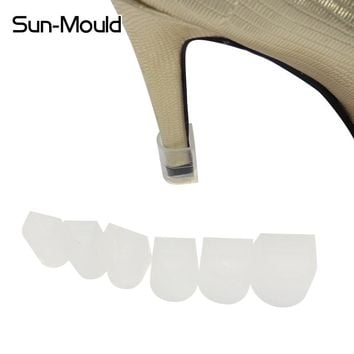 NEW 7 size  high Stiletto Heel Protectors ,Latin Shoe heel set ,stop your shoes locked antislip 7pairs/lot  free Dropping