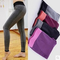 Gym Women Yoga Clothing Sports Pants Legging Tights Workout Sport Fitness Bodybuilding And Clothes Running Leggings For Female
