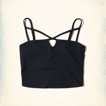 Girls Strappy Crop Top | Girls New Arrivals | HollisterCo.com