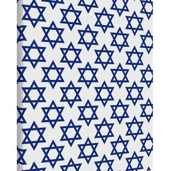 Stars of David Jewish Printed Canvas Art Portrait - Choose Size by TooLoud