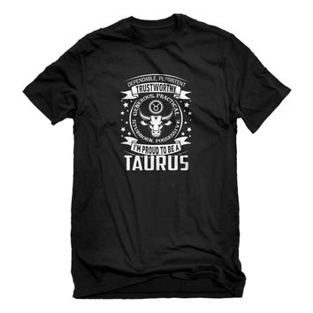 Mens Taurus Astrology Zodiac Sign Unisex T-shirt