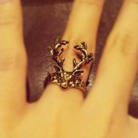 Deer Ring from Country Wind