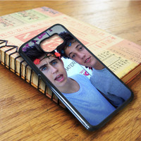 Nash Grier And Cameron Dallas Samsung Galaxy S6 Edge Case