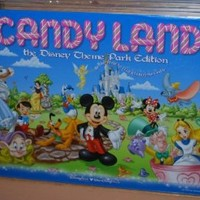 Disney Candyland Theme Park Edition