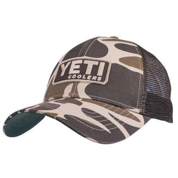 Custom Camo Hat with Patch by YETI