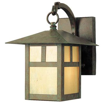 Livex Lighting 2131-16 Montclair Mission Verde Patina One-Light Outdoor Fixture