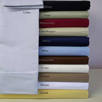 100% Microfiber Pillowcase Sets