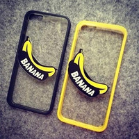 Stereoscopic banana phone case for iphone 5 5s SE 6 6s 6 plus 6s plus + Nice gift box 072702