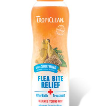 TropiClean Natural Flea & Tick Bite Relief 12 oz