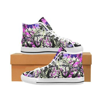 Country Girl Design 1 Vancouver High Top Canvas Men's Shoes