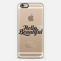 Hello Beautiful iPhone 6 case by Tracey Coon | Casetify