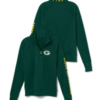 Green Bay Packers Athletic Half-Zip Pullover