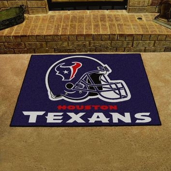 "Houston Texans 34"" x 43"" All Star Area Rug Floor Mat"
