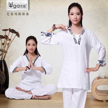 Fall/winter Yoga clothing suits You Jiaya 2016 new Yoga clothes suits  Zen Buddhist clothing