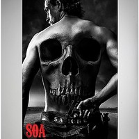 Sons of Anarchy Jax Back Poster - Spencer's