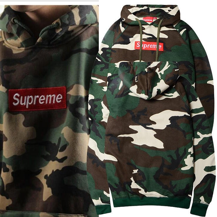 185af0a6760c Unisex Supreme Camouflage Embroidery Hoodies  9506643399
