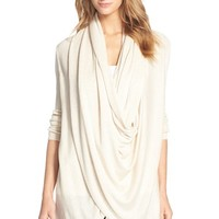 Women's Nordstrom Long Wrap Cardigan,