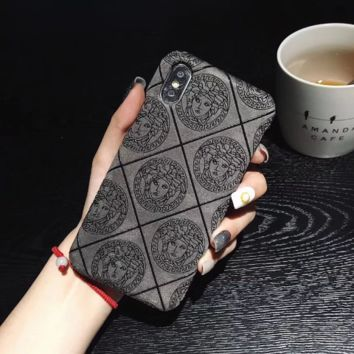 VERSACE Case for iPhone XS Max/XR 7P 6S