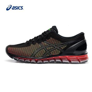 Original ASICS Men Colour-changing Breathable Cushion Running Shoes Light Weight Sports Shoes Sneakers