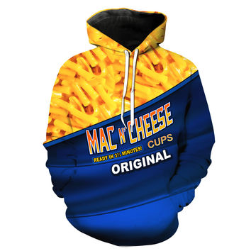 Mac' N Cheese Macaroni and Cheese Hoodie