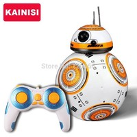 DCCKJG1 Star Wars 17 cm RC 2.4G BB-8 Robot w/remote control with sound RC Ball kid gift boy toy