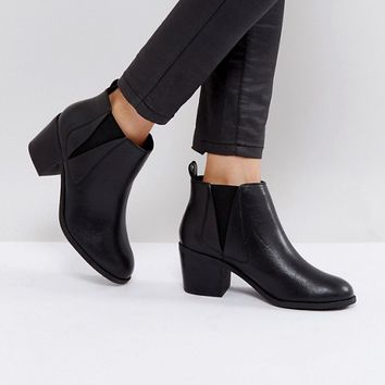 Office Agenda Ankle Boots at asos.com