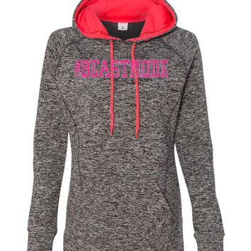 Workout Hoody Fitness Womens Hoodie - Beastmode - ** More Colors Available **